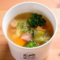 体にやさしい野菜スープ 298円(税別)